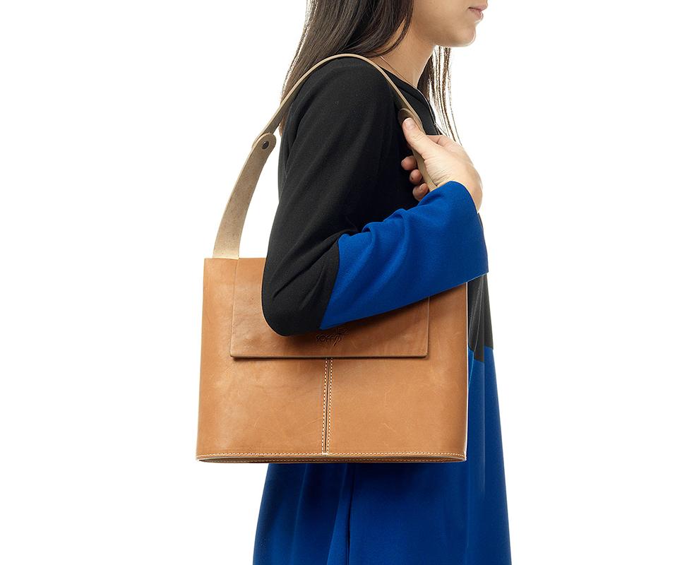 borsa donna pelle naturale