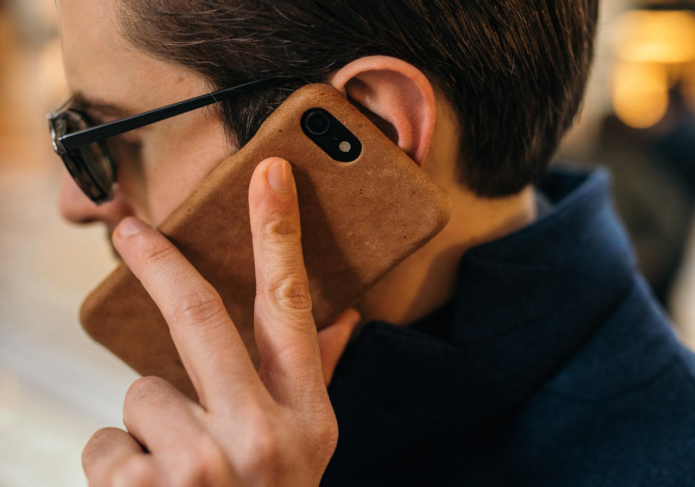 iphone cover custodia pelle