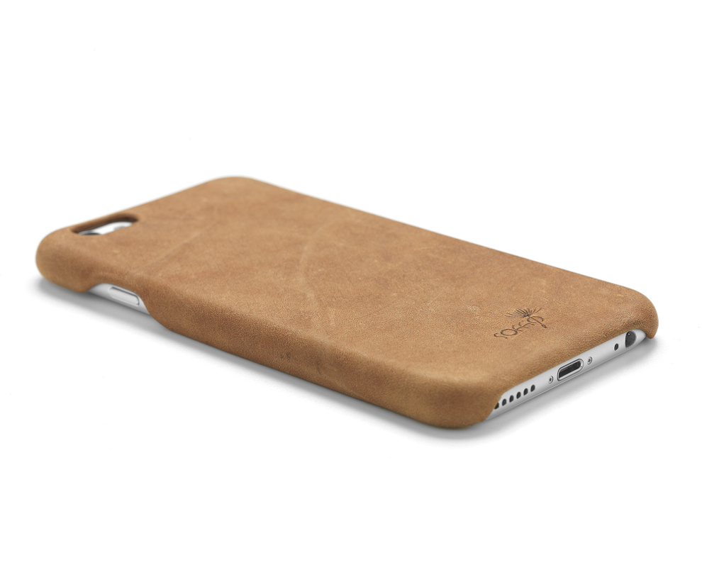 leather cover for iPhone
